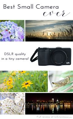 Review of the Best Small Camera ever! Perfect travel camera