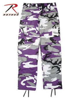 Purple Camouflage BDU Pants – Barre Army/Navy Store Online Store