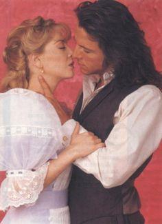 Eduardo Palomo - Edith Gonzalez  Corazon Salvaje Edith Gonzalez, Dream Guy, Period Dramas, Romance Books, Betty Boop, True Beauty, Movie Tv, Nostalgia, Handsome