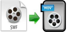 Convert SWF files into  MOV file format to play it on MOV compartible devices like iPhone, iPad, QuickTime player, etc.