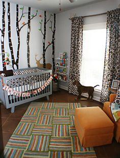 Project Nursery - Woodlands Boy Nursery Room View