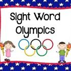 Sight Word Olympics - materials, signs, and directions for 9 awesome sight word review activities! $