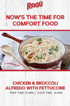 Lunch Recipes, Dinner Recipes, Cooking Recipes, Healthy Recipes, Broccoli Recipes, Chicken Broccoli, Pasta Dishes, Food Dishes, Italian Recipes