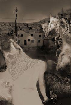 Death rising / Pepe Dominguez Mount Rushmore, Artworks, Death, Mountains, Awesome, Illustration, Photography, Travel, Fotografia