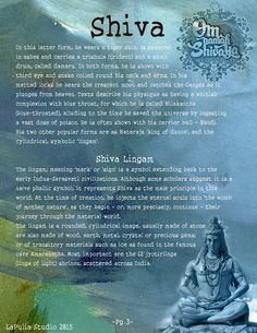 Book of Shadows:  #BOS Part 1 ~ Shiva and Shakti page 3.