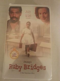 DISNEY'S RUBY BRIDGES-A REAL AMERICAN HERO-PENELOPE ANN MILLER-KEVIN POLLAK-VHS