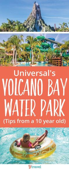 Get Wet and Wild: Tips for Universal's Volcano Bay Orlando Water Park Volcano Bay Orlando. If you are planning a trip to Universal Orlando Resort, check out these tips for Universal's newest theme park, Volcano Bay in Orlando, Florida Universal Studios, Universal Orlando Hotels, Orlando Travel, Orlando Vacation, Orlando Resorts, Family Vacation Destinations, Orlando Florida, Family Vacations, Cruise Vacation