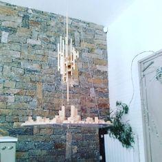 """Ville flottante"" teya : Clélia Portal #art #cleliaportal #teya #sculpture #matiere #survivance #nature #contemporain #installation #marseille #cercle #jeune #france #sud #papier #pjt #mecene #exposition #femme #artiste#carton #bois #www.teya.fr"
