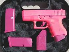 Glock 26 in hot pink :)