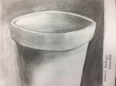 Estudo sobre a forma de um vaso.