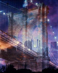 Brooklyn Bridge Montage, Andrew Moore