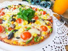 Kahvaltıya Şipşak Tencere Pizzası (20 Dakika) - Nefis Yemek Tarifleri Hawaiian Pizza, Vegetable Pizza, Vegetables, Cooking, Food, Recipes, Instagram, Pizza, Kitchen