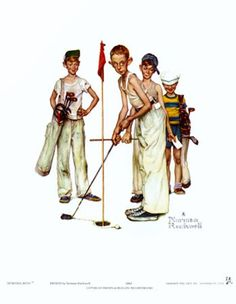 Missed Art Print by Norman Rockwell