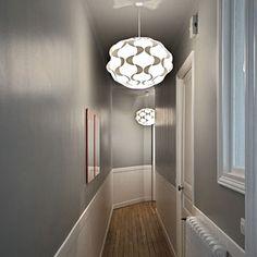 Entr es et couloirs entrances and corridors on - Decoration couloir long et etroit ...
