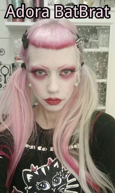 Adora BatBrat Makeup Inspiration, Style Inspiration, Makeup Ideas, Adora Batbrat, Punk Princess, Gothic Girls, Gothic Beauty, Alternative Fashion, Hair Inspo
