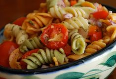 Cold Pasta Salad | Amanda Jane Brown