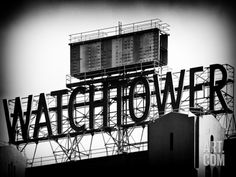 The Watchtower, Jehovah's Witnesses, Brooklyn, Manhattan, New York, Black and White Photography Photographic Print by Philippe Hugonnard at Art.com