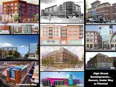 Very interesting comparative look at developments along High Street. What are your thoughts?