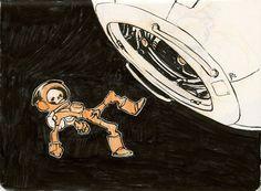 Spaceskull by Jake Parker
