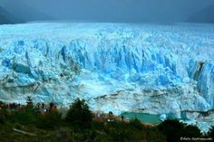 One of the largest glaciers in the world! - Los Glaciares (a national park) in Patagonia, Argentina