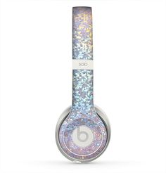 The Colorful Confetti Glitter Sparkle (PRINT) Skin for the Beats by Dre Solo 2 Headphones from DesignSkinz. Saved to Beats🎀. Cute Headphones, Wireless Headphones, Bluetooth, Beats Earbuds, Glitter Fashion, Accessoires Iphone, Beats By Dre, Iphone Accessories, Computer