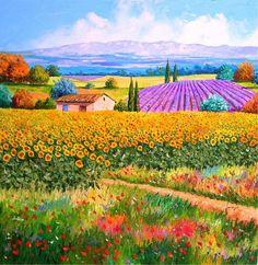 Jean-Marc Janiaczyk Paintings