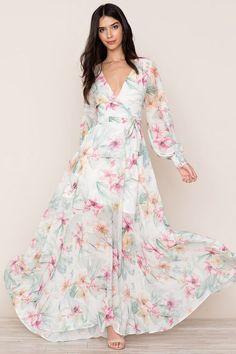 Yumi Kim Giselle Maxi Dress - Spring Fling S Day Dresses, Dress Outfits, Casual Dresses, Dresses With Sleeves, Summer Dresses, Indian Fashion Dresses, Dress Indian Style, Fashion Outfits, Maxi Wrap Dress