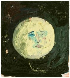 This is incredible - I love faces in the moon, real and illustrated. Moon Man by Kristopher Benedict.
