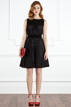 Lopez Broderie Dress - Lyst