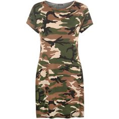 Giovanna Camouflage Print Baggy T-Shirt ($19) ❤ liked on Polyvore featuring tops, t-shirts, camouflage, short sleeve t shirt, oversized tee, long length t shirts, rayon t shirt and camouflage t shirts