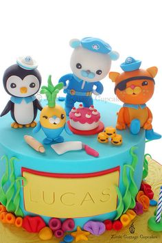 Octonauts by Little Cottage Cupcakes, via Flickr