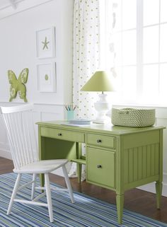 Feeling a little #green with envy? Our Jodi #desk has that effect.