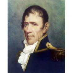 Andrew Jackson (President 1829-1837) John Wesley Jarvis (1780-1840American) Canvas Art - John Wesley Jarvis (18 x 24)