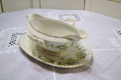 Vintage Franconia Hawthorn Gravy Boat Bowl Bavaria by PanchosPorch, $30.00