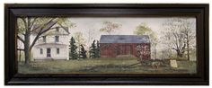Spring Flowers for Sale framed print by Billy Jacobs. Available at www.shabbyshedprimtives.com