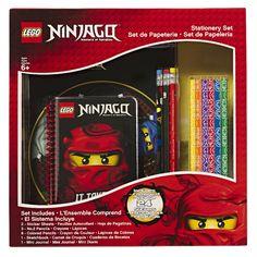 LEGO Ninjago Boxed Stationery Set