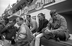 Phil Hill, Jesse Alexander, Masten Gregory, Richie Ginther, Lance Reventlow, Le Mans 1957