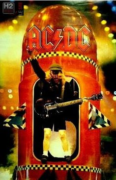 Rock And Roll Bands, Rock Bands, Rock N Roll, Angus Young, Highway To Hell, Bad To The Bone, Great Bands, Classic Rock, Rock Music