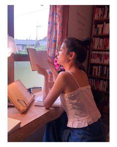"""정소민 compartilhou uma publicação no Instagram: """"💋📖"""" • Siga sua conta para ver 887 publicações. Playful Kiss, Jung So Min, Young Actresses, Korean Artist, Camisole Top, Summer Dresses, Instagram, Tank Tops, Beauty"""