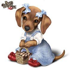 Картинки по запросу wizard of oz dorothy dachshund dog collectible figurine Animals And Pets, Baby Animals, Funny Animals, Cute Animals, Cute Puppies, Cute Dogs, Dogs And Puppies, Wizard Of Oz Collectibles, Art Mignon
