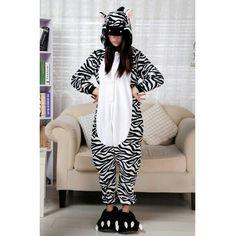 Pigiama zebra http://www.scegli-e-compra.com/272-pigiami-divertenti