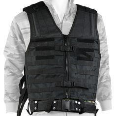 Veste tactique Acyd Noire Molle  39,00 €