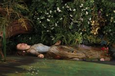 Blackwater Ophelia, 2013 Artist Adad Hannah riffs on John Everett Millais' iconic Pre-Raphaelite painting. He shot it near Sarnia's Chemical Valley, which makes you wonder: is Ophelia dying of heartache or water contamination?