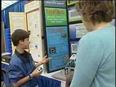 Compete instructions on how to do a science fair project and set up a board. Includes pictures, examples, resources and step-by step original projects. Science Fair Board, Elementary Science Fair Projects, Science Projects, Easy Science Experiments, Science For Kids, Science Anchor Charts, Old Technology, Project Presentation, Social Media