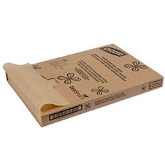 """100 Sheets / 12 X12"""" Natural Kraft Food Paper Liners / Wrapping Tissue"""