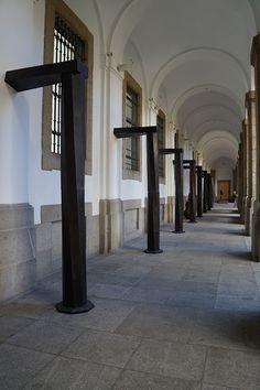 """I saw it in Bologna"" (""Lo vi en Bolonia"") Juan Muñoz. Museo Reina Sofía de Madrid. #arte #escultura #sculpture #artecontemporáneo #contemporaryart #spanishartists #Arterecord https://twitter.com/arterecord"