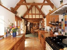 Wooden interior kitchen design ideas