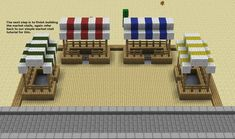 Minecraft Village Market Related Keywords & Suggestions … - Minecraft, Pubg, Lol and Minecraft Farmen, Minecraft Poster, Minecraft Shops, Skins Minecraft, Minecraft House Designs, Minecraft Construction, Amazing Minecraft, Cool Minecraft Houses, Minecraft Blueprints