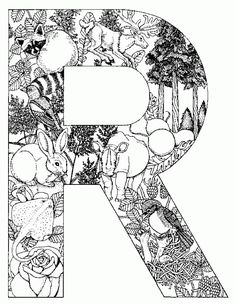 Coloring Pages Animals Alphabet 31