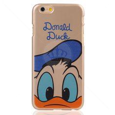 Capa Rígida Dourada Donald para iPhone 6